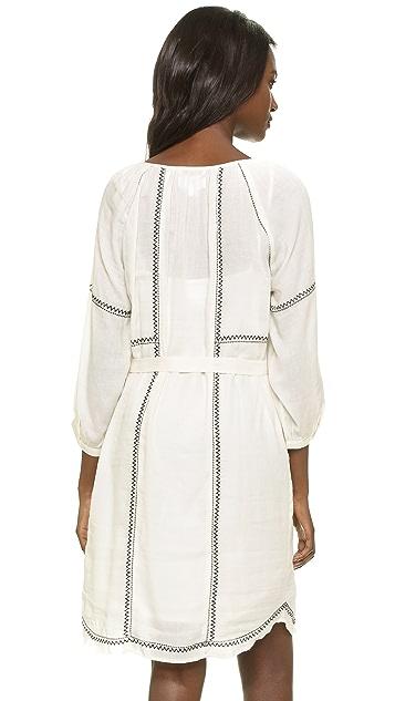 Velvet Cristal Embroidered Dress