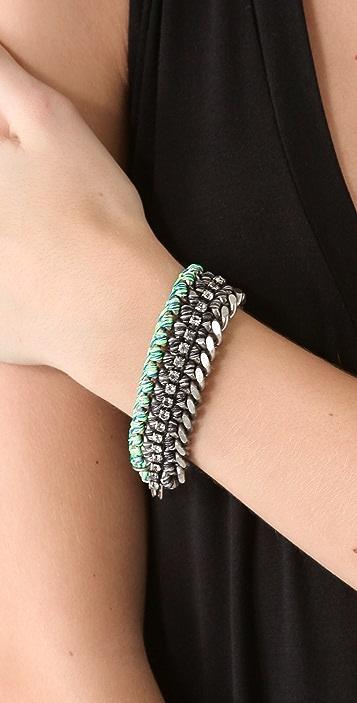 Venessa Arizaga Glowing Heart Bracelet