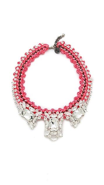 Venessa Arizaga Pink Panther Necklace