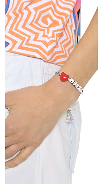 Venessa Arizaga Love 2 Shop Bracelet