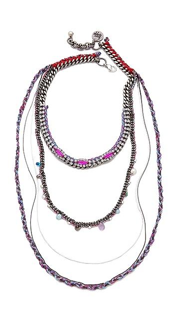 Venessa Arizaga Saturn Day Necklace