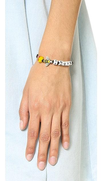 Venessa Arizaga Fries Bee 4 Guys Bracelet