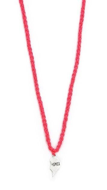Venessa Arizaga BFFs Forever Friendship Necklace