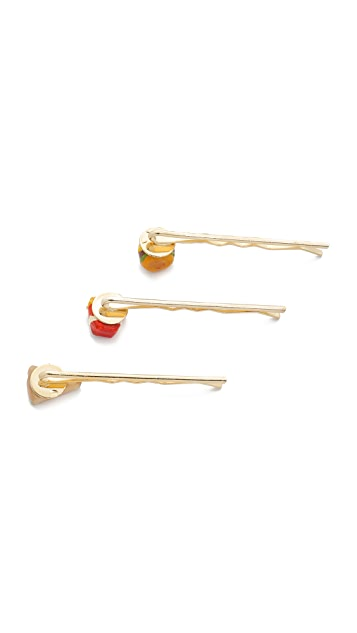 Venessa Arizaga Snack Attack Junk Food Bobby Pin Set