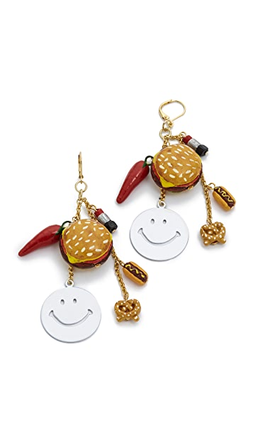 Venessa Arizaga Hot Snacks Earrings