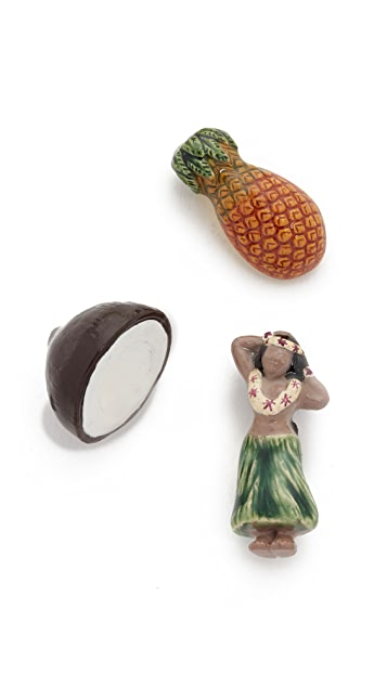 Venessa Arizaga Pina Colada Pin Set