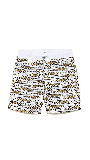 Venroy Cabana Swirl Swim Trunks