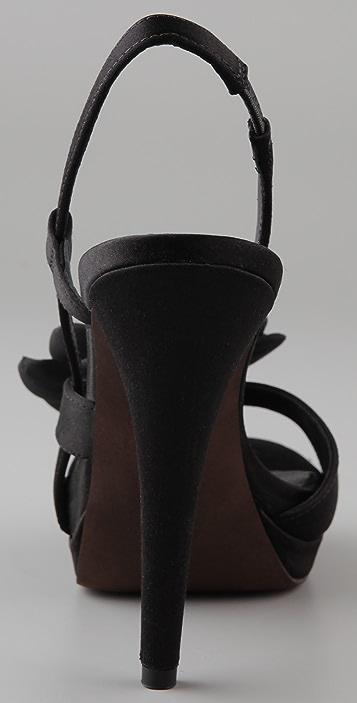 Vera Wang Savy Sling Back Sandals