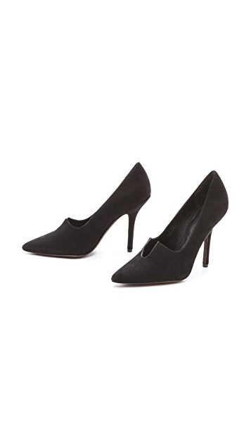 Vera Wang Briella Suede Pumps