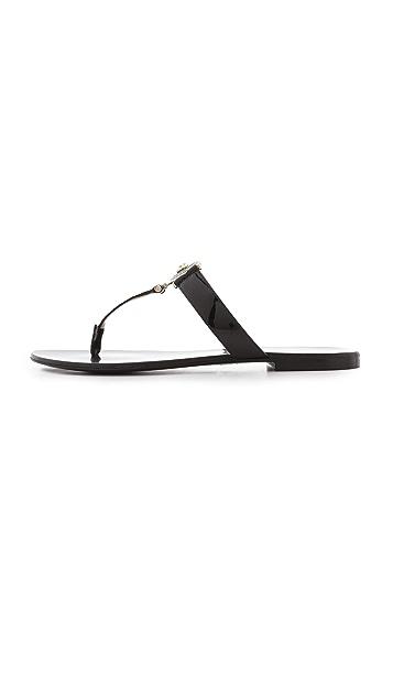 Versace Embellished Sandals