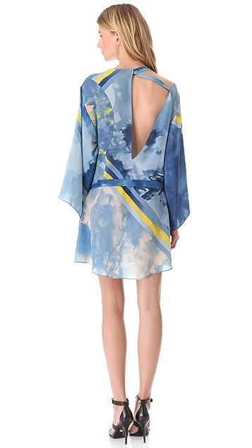 Versace Tie Dye Medusa Dress