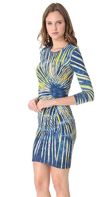 Versace Jersey Sunburst Dress