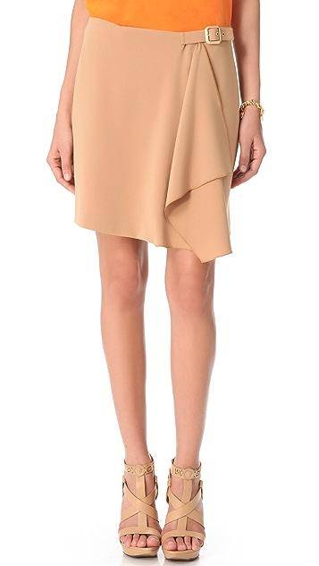 Versace Side Buckle Skirt