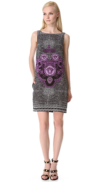 Versace Sleeveless Print Dress