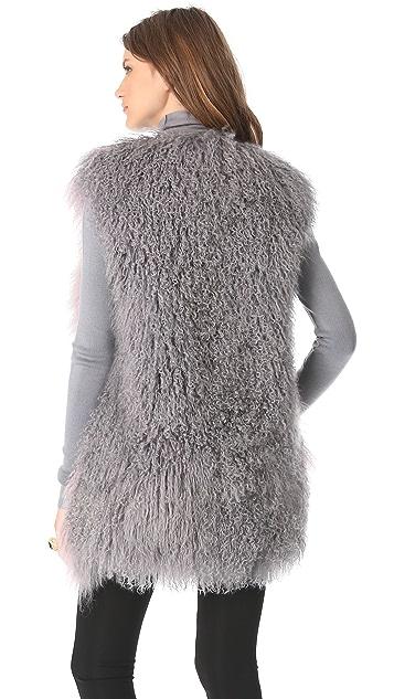 Versace Fur Vest
