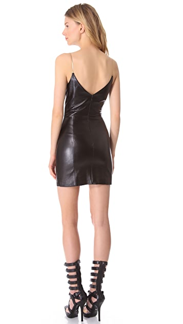 Versace Leather Dress