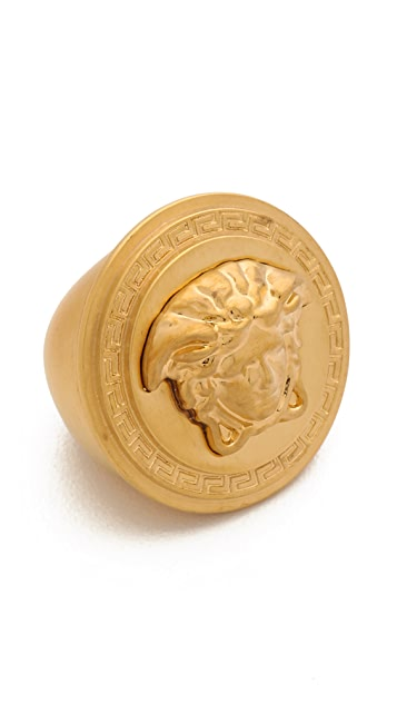Versace Gold Plated Ring