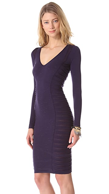 Versace Long Sleeve Sweater Dress