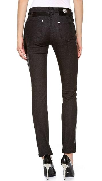 Versace Black Skinny Jeans