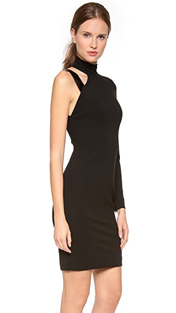 Versace Asymmetrical One Shoulder Dress