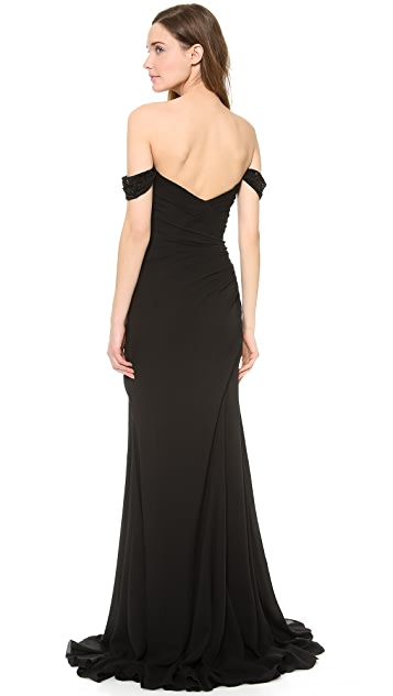 Versace Strapless Gown