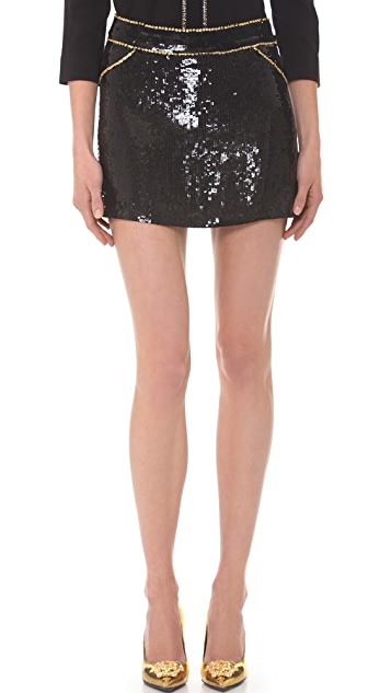 Versace Sequin Skirt