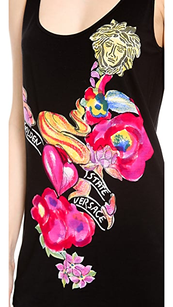 Versace Sleeveless Tank