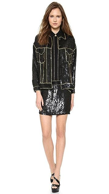 Versace Sequin Jacket