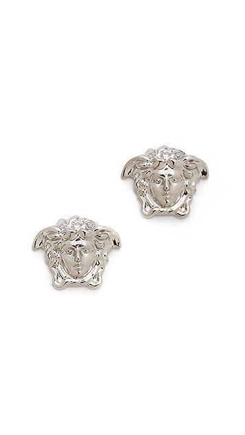 3c4b2f6dc Versace Silver Medium Medusa Head Earring | SHOPBOP