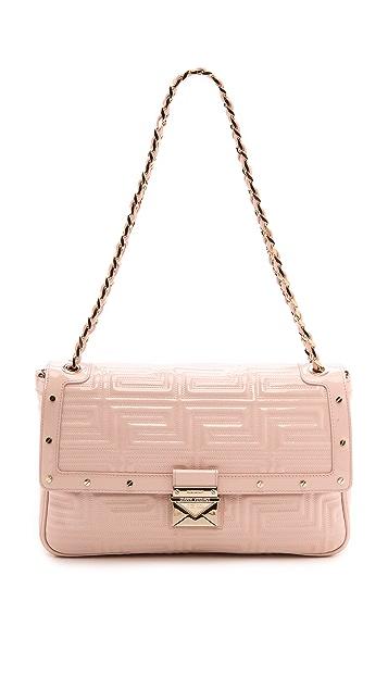 Versace Leather Shoulder Bag