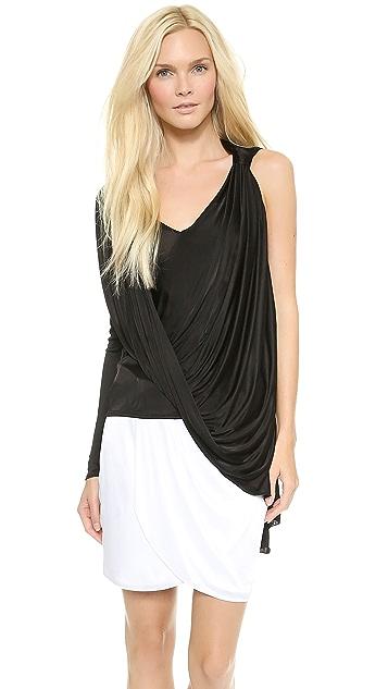 Versace One Sleeve Top