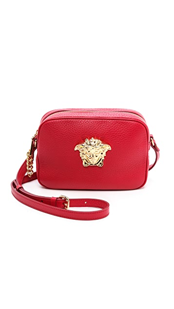 Versace Leather Cross Body Bag