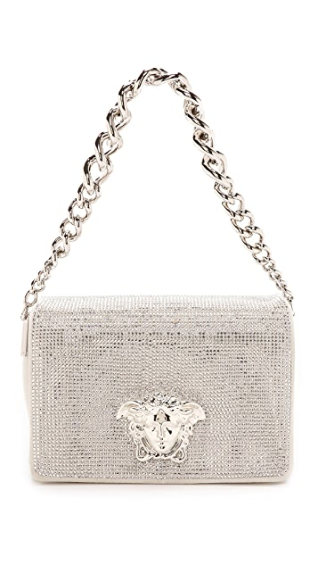 3f608687f81 Versace Swarovski Crystal Shoulder Bag | SHOPBOP