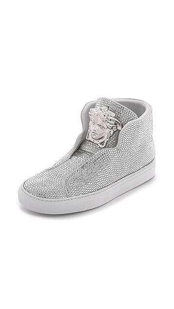 H?gl Swarovski crystal sneakers