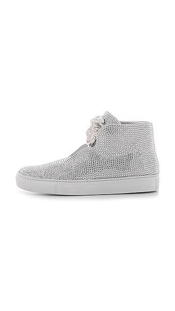 ba7d537d0d2f Versace Swarovski Crystal Sneakers  Versace Swarovski Crystal Sneakers ...