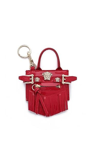 Versace Mini Handbag Keychain