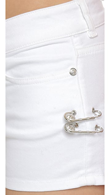 Versus Mini Jean Shorts