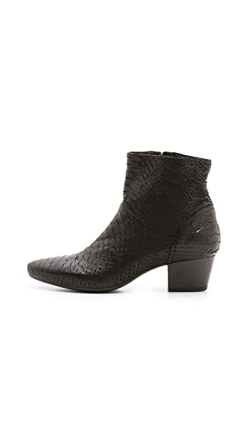 Vic Italy Low Heel Ankle Booties