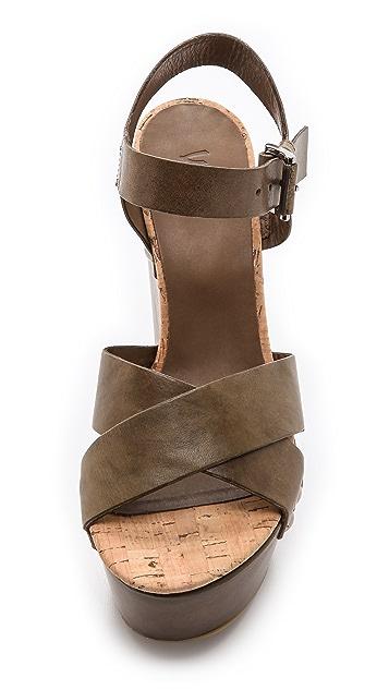 Vic Italy Platform Sandals