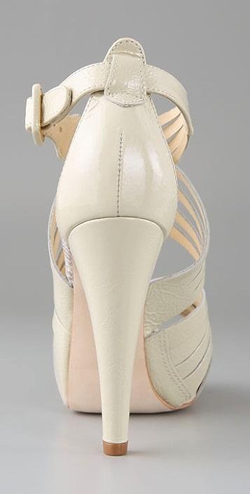 Pour La Victoire Joleen Woven Platform Sandals