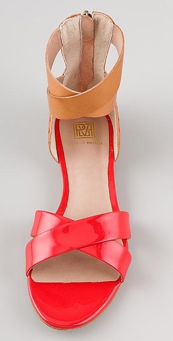 Pour La Victoire Fabia X Band Sandals