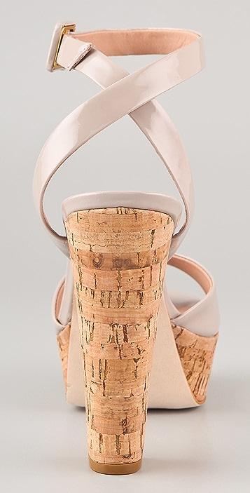 Pour La Victoire Nasha Platform Sandal