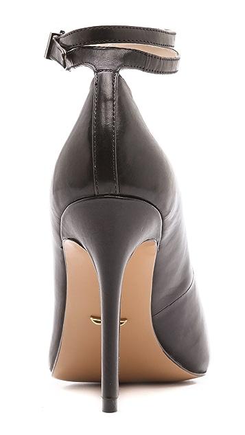 Pour La Victoire Turner Ankle Strap Pumps