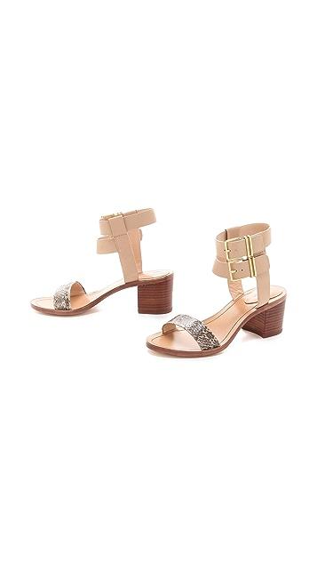 Pour La Victoire Dagney Block Heel Sandals