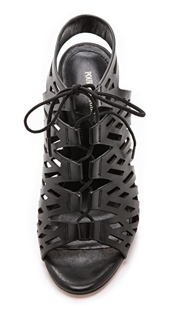 Pour La Victoire Yermak Cutout Sandals