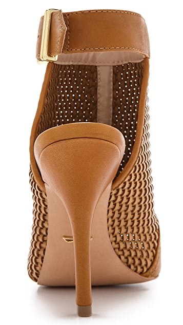 Pour La Victoire York Woven Open Back Sandals