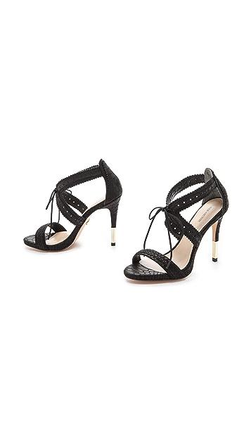 Pour La Victoire Shanna Lace Up Sandals