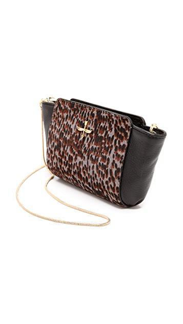 Pour La Victoire Elie Mini Haircalf Cross Body Bag
