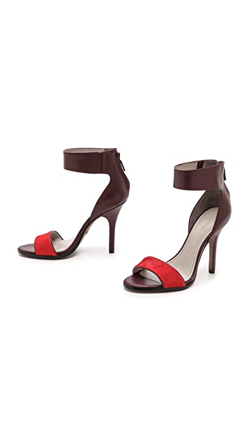 Pour La Victoire Yara Sandals with Haircalf Band