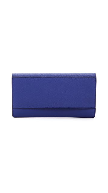 Pour La Victoire Zip Around Continental Wallet